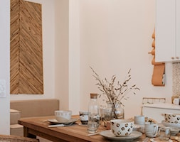 MIESZKANIE BOHO 47 m2 - Kuchnia - zdjęcie od troomono - Homebook