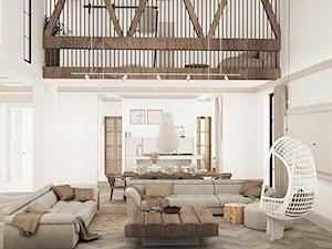 Projekt wnętrza domu jednorodzinnego 210m2- Kościan