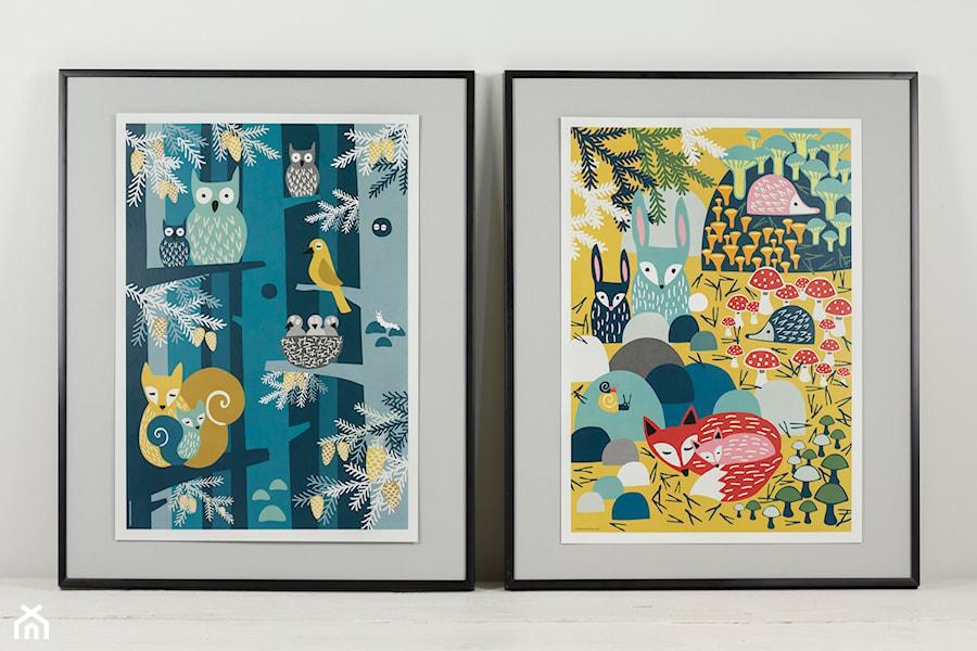 Kolorowe Plakaty Dziecięce Muumuru Zdjęcie Od Magiapolnocy