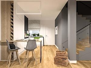 Kuchnia oraz łazienka w domu jednorodzinnym Swarzędz