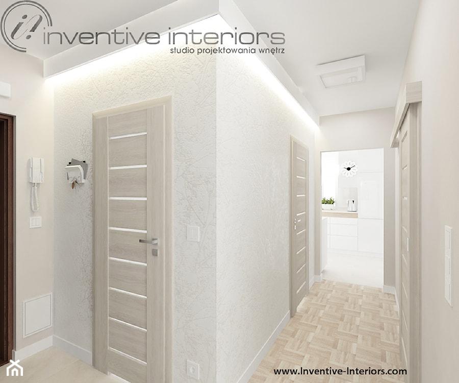 Tapeta W Korytarzu Zdjęcie Od Inventive Interiors Homebook