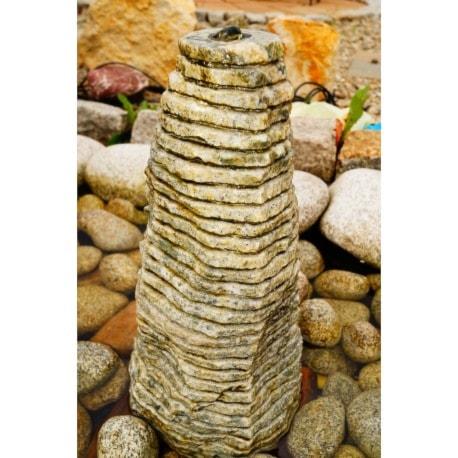 Fontanna monolit frezowany zielony - zdjęcie od Kamienie naturalne Chrobak