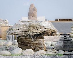 Fontanna Monolit makedon - zdjęcie od Kamienie naturalne Chrobak - Homebook