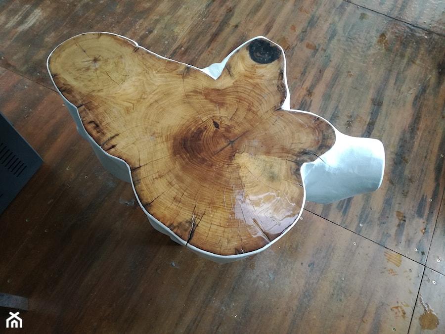 Nowoczesny stolik kawowy - zdjęcie od Kamienie naturalne Chrobak