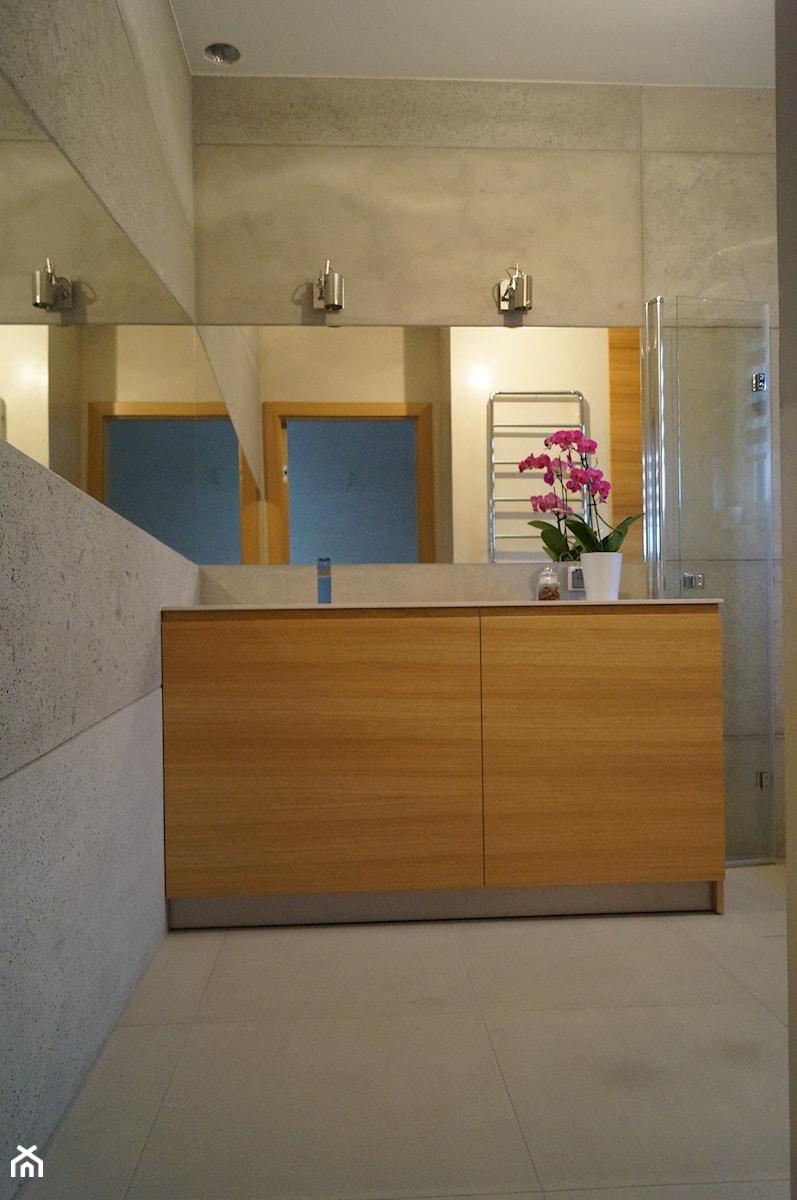 Łazienka z Betonu Architektonicznego - Łazienka, styl nowoczesny - zdjęcie od Kamienie naturalne Chrobak
