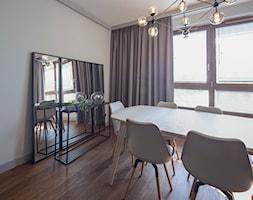 ALTERLIER ŻOLIBORZ -110m2 - Średnia zamknięta szara jadalnia jako osobne pomieszczenie, styl nowoczesny - zdjęcie od HOMO DECO Katarzyna Maciejewska