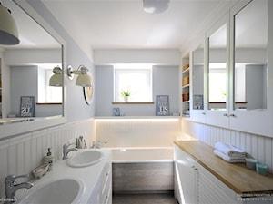 Pastelowa łazienka - zdjęcie od Magdalena Sobula Pracownia Projektowa Pe2