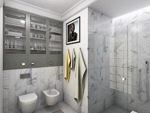 Łazienka gościnna - zdjęcie od Magdalena Sobula Pracownia Projektowa Pe2