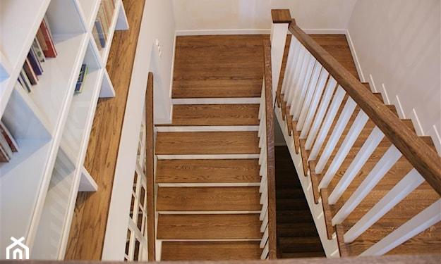 pomysłowe drewniane schody