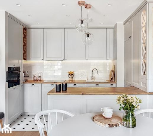 Remont małej kuchni w bloku – 6 trików, dzięki którym optycznie powiększysz wnętrze