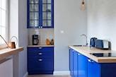 kobaltowa kuchnia