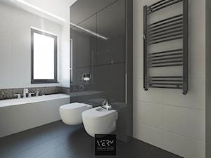 Łazienka na piętrze - Zalasewo