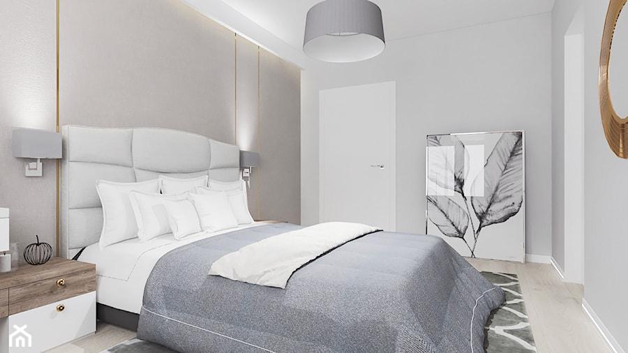Sypialnia 15 m2 - zdjęcie od VERY Interior Design - Projektowanie Wnętrz