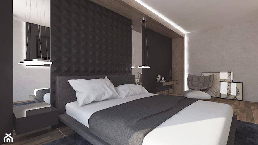 Sypialnia | Kol. Skarszewek | Wersja 1 - zdjęcie od VERY Interior Design - Projektowanie Wnętrz