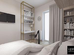 Kobiece mieszkanie w Poznaniu | Sypialnia | 60m2