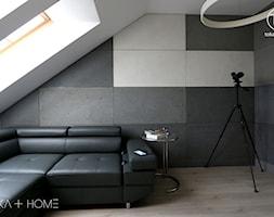 Stylowy antracyt - gabinet - zdjęcie od TOKA + HOME