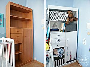 Marynistyczna szafka DIY - zdjęcie od Drob Design