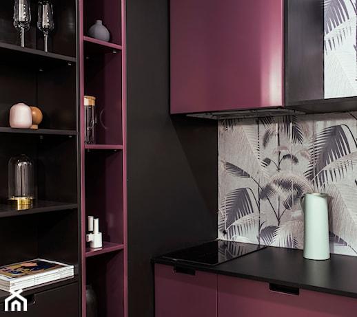 Kolor fioletowy we wnętrzu – pomysły i porady stylizacyjne