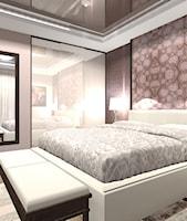 """sypialnia - zdjęcie od Projektowanie Wnętrz """"ART LINE"""""""