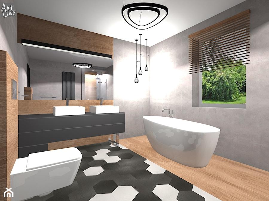 Wizualizacja łazienki Po Metamorfozie Zdjęcie Od