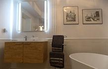 """łazienka po remoncie - zdjęcie od Projektowanie Wnętrz """"ART LINE"""""""