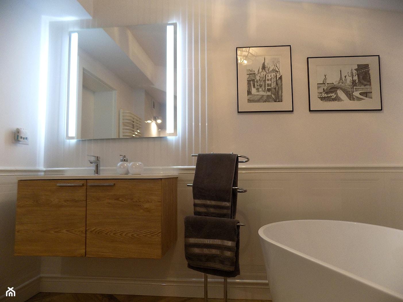 """łazienka po remoncie - zdjęcie od Projektowanie Wnętrz """"ART LINE"""" - Homebook"""