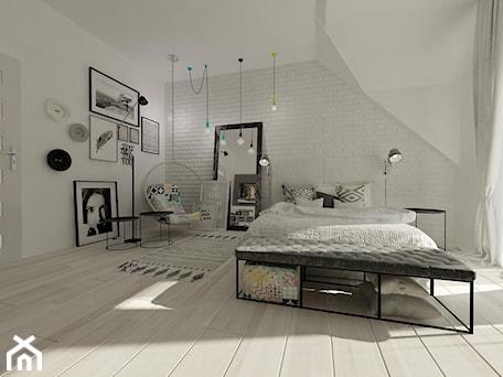 Wnętrza mieszkalne 2015 - Nowoczesny i minimalistyczny pokój - zdjęcie od Art&Design Kinga Śliwa
