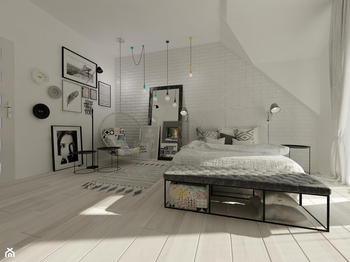 Wnętrza mieszkalne 2015 - Nowoczesny i minimalistyczny pokój - zdjęcie od Art&Design Kinga Śliwa - Homebook