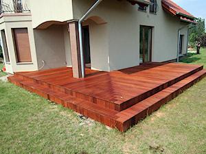 Taras drewniany. Realizacja w Świdnicy