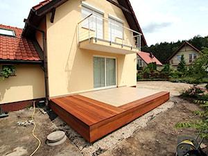Taras drewniany. Realizacja w Zielonej Górze3