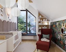 Projekt domu jednorodzinnego w Krakowie - Pokój dziecka, styl tradycyjny - zdjęcie od Architekt Wnętrz Patrycja Wojtaś - Homebook