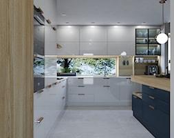 Projekt wnętrz domu jednorodzinnego wdł. projektu Parterowy 2 - Kuchnia, styl nowoczesny - zdjęcie od Architekt Wnętrz Patrycja Wojtaś - Homebook