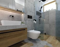 Aranżacje łazienek Płytki Drewnopodobne Pomysły