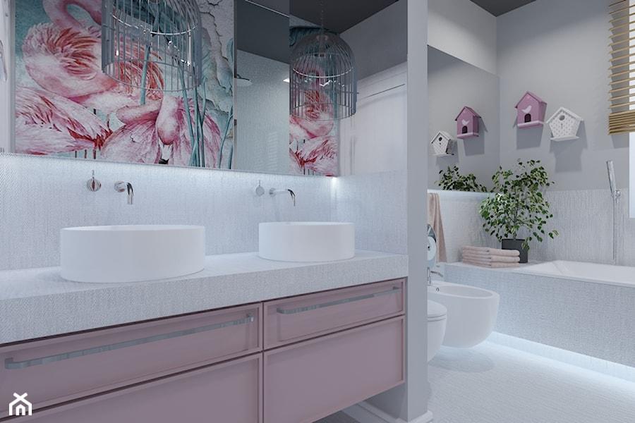 Łazienka dla córek - zdjęcie od Architekt Wnętrz Patrycja Wojtaś