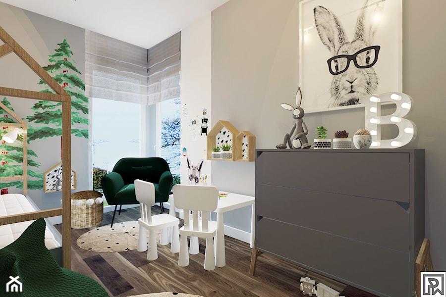Projekt pokoju dziecięcego w Bielsku-Białej - Pokój dziecka, styl nowoczesny - zdjęcie od Architekt Wnętrz Patrycja Wojtaś