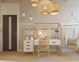 Projekt domu jednorodzinnego w Krakowie - Pokój dziecka, styl skandynawski - zdjęcie od Architekt Wnętrz Patrycja Wojtaś - Homebook