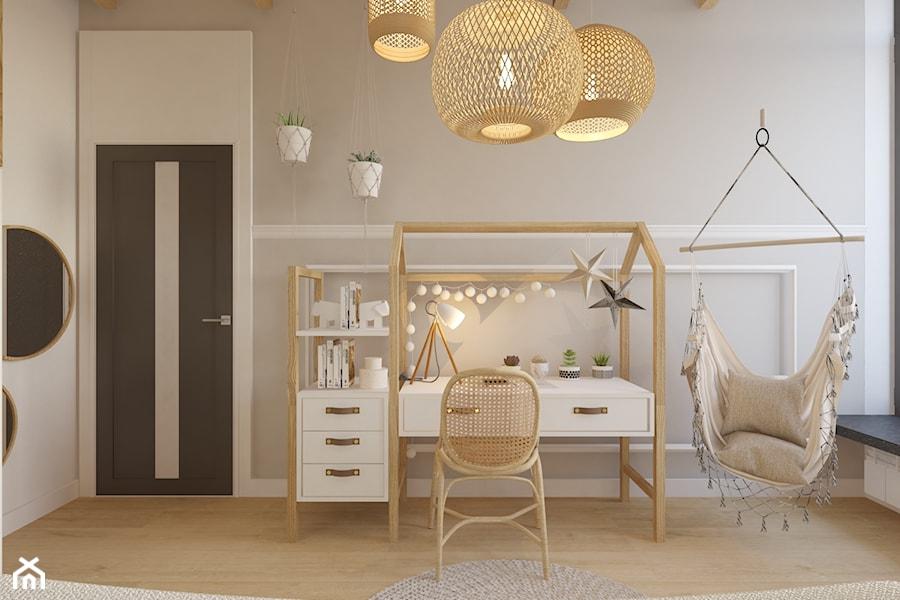 Projekt domu jednorodzinnego w Krakowie - Pokój dziecka, styl skandynawski - zdjęcie od Architekt Wnętrz Patrycja Wojtaś