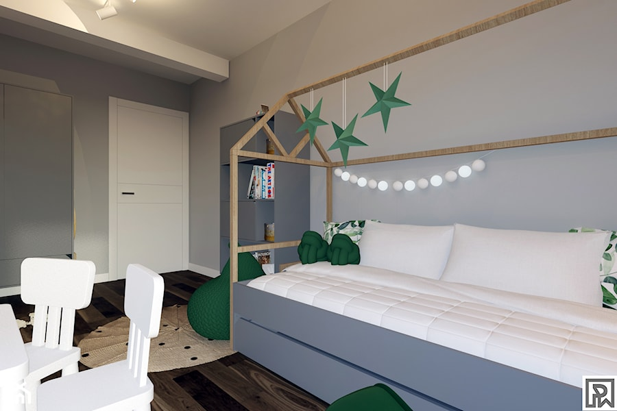 Projekt pokoju dziecięcego w Bielsku-Białej - Pokój dziecka, styl tradycyjny - zdjęcie od Architekt Wnętrz Patrycja Wojtaś