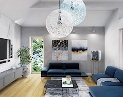 Projekt+salonu+z+jadalni%C4%85+w+domu+jednorodzinnym+w+Bielsku-Bia%C5%82ej+-+zdj%C4%99cie+od+Architekt+Wn%C4%99trz+Patrycja+Wojta%C5%9B