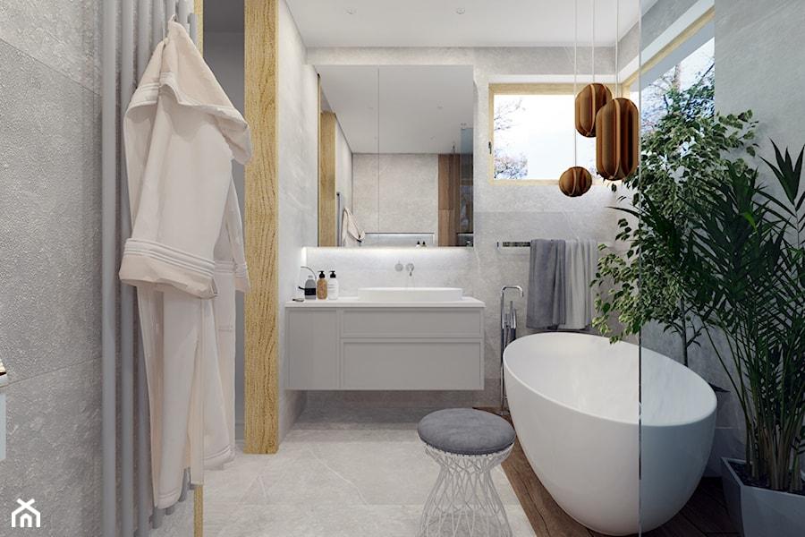 Projekt łazienki prywatnej - zdjęcie od Architekt Wnętrz Patrycja Wojtaś