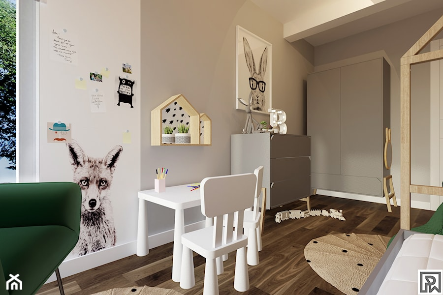 Projekt pokoju dziecięcego w Bielsku-Białej - Pokój dziecka, styl skandynawski - zdjęcie od Architekt Wnętrz Patrycja Wojtaś