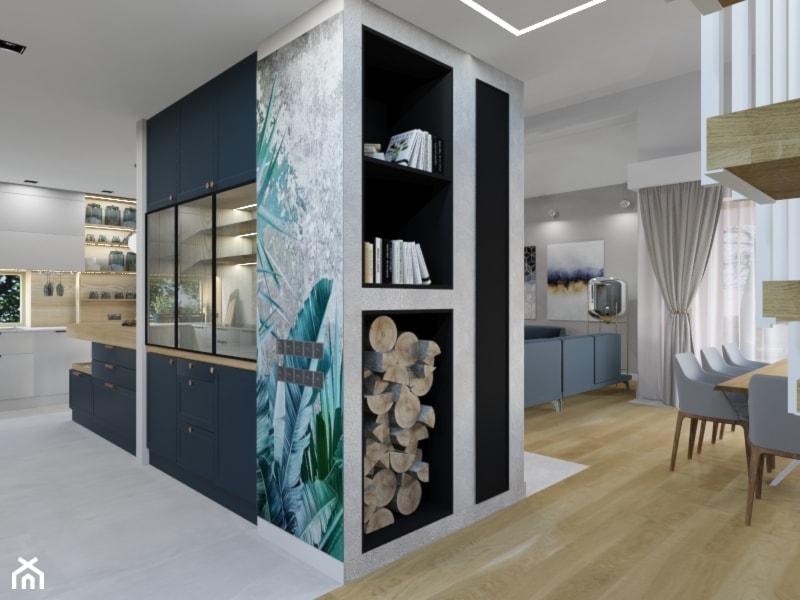 Projekt kuchni w domu jednorodzinnym w Bielsku-Białej, według projektu Parterowy 2 - zdjęcie od Architekt Wnętrz Patrycja Wojtaś