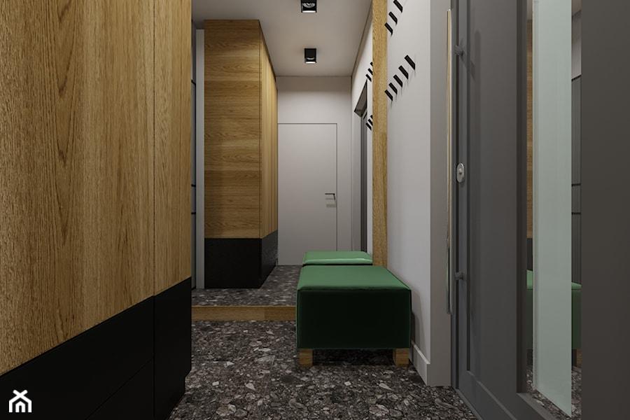 Dom w Kozach - Hol / przedpokój, styl nowoczesny - zdjęcie od Architekt Wnętrz Patrycja Wojtaś