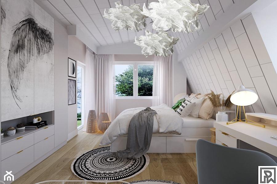 Pokój nastolatki w stylu Boho - Pokój dziecka, styl skandynawski - zdjęcie od Architekt Wnętrz Patrycja Wojtaś