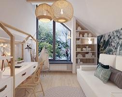 Projekt domu jednorodzinnego w Krakowie - Pokój dziecka, styl nowoczesny - zdjęcie od Architekt Wnętrz Patrycja Wojtaś - Homebook