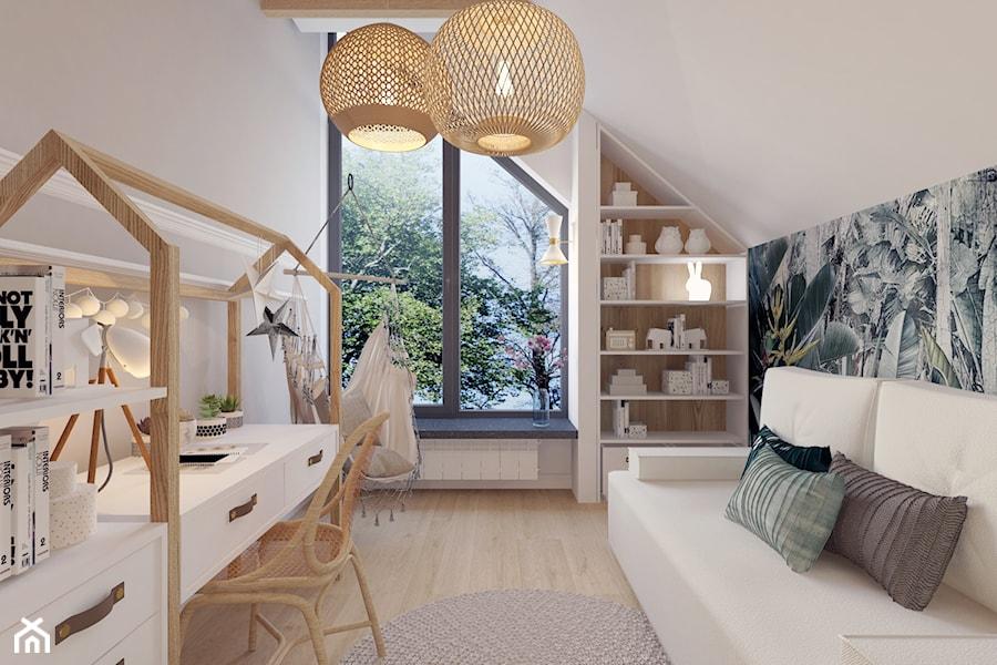 Projekt domu jednorodzinnego w Krakowie - Pokój dziecka, styl nowoczesny - zdjęcie od Architekt Wnętrz Patrycja Wojtaś