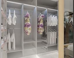 Projekt garderoby w domu jednorodzinnym w Bielsku-Białej - zdjęcie od Architekt Wnętrz Patrycja Wojtaś - Homebook