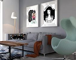 Salon w Mieszkaniu pod Dębami - zdjęcie od Architekt Wnętrz Patrycja Wojtaś