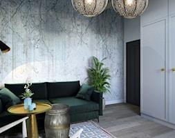 Projekt domu jednorodzinnego w Krakowie - Sypialnia, styl kolonialny - zdjęcie od Architekt Wnętrz Patrycja Wojtaś - Homebook