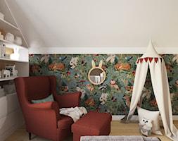 Projekt domu jednorodzinnego w Krakowie - Pokój dziecka, styl vintage - zdjęcie od Architekt Wnętrz Patrycja Wojtaś - Homebook